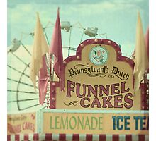 funnel cakes Photographic Print