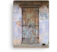 Rusty Door Canvas Print