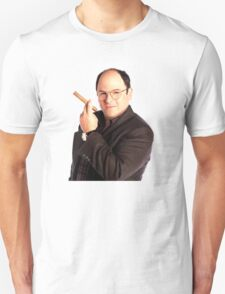George Constanza with cigar  Unisex T-Shirt