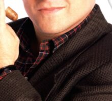 George Constanza with cigar  Sticker