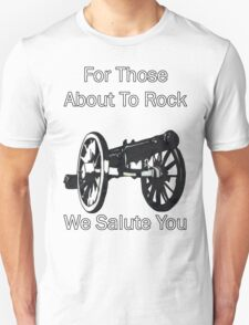 AC/DC For Those About To Rock Unisex T-Shirt