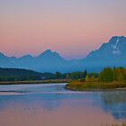 Sunrise In The Tetons! by Luann wilslef
