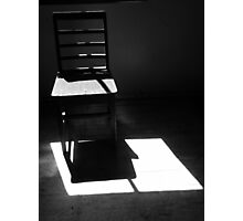 Chair study 1 Photographic Print