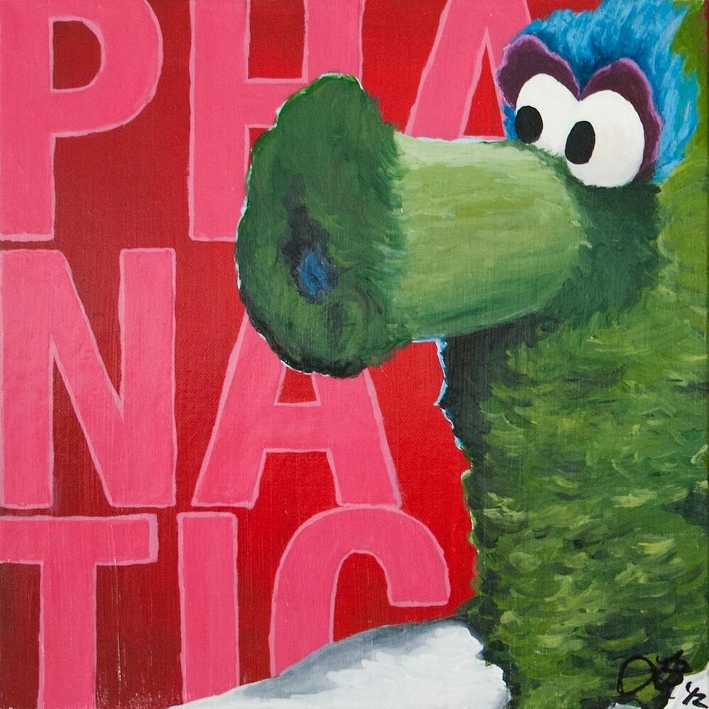 Philadelphia Phanatic Painting by Lindsey Butler