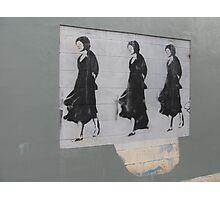 Three Ladies Photographic Print