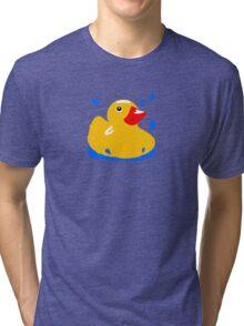 Duck! Tri-blend T-Shirt