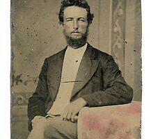 Wade & Sandifer Estate / Unidentified man tintype by West Kentucky Genealogy