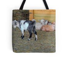Baby Goats Tote Bag