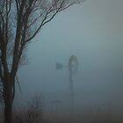 Country Windmill Three, Australia by Phill Danze