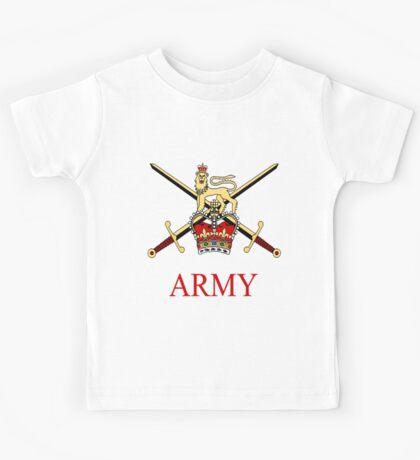 British Army Crest Kids Tee