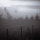 Country Windmill Four, Australia by Phill Danze