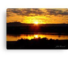 Sunrise over Port Augusta Canvas Print