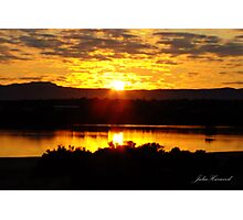 Sunrise over Port Augusta Photographic Print