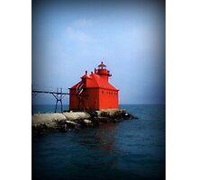 Sturgeon Bay Canal North Pierhead Light © Photographic Print