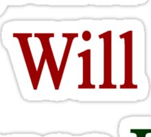 Together We Will Change Italy  Sticker