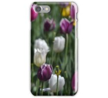 A Field of Tulips iPhone Case/Skin