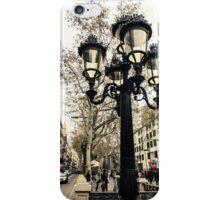 barcelona, La Rambla  iPhone Case/Skin