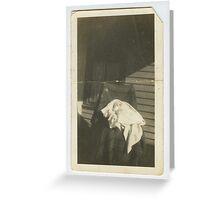 Wade & Sandifer Estate / Doyle W. Wade deceased son of Cora & Will E. Wade born 1920 Greeting Card