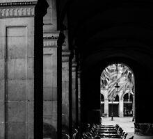 Barcelona, Plaza Real  by Andrea Mazzocchetti