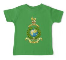The Corps of Royal Marines Logo Baby Tee