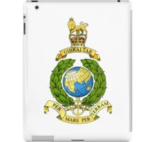 The Corps of Royal Marines Logo iPad Case/Skin