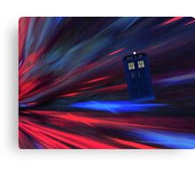 Doctor Who The Movie Canvas Print