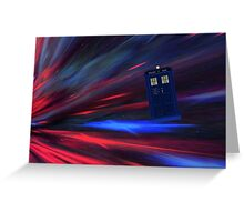 Doctor Who The Movie Greeting Card