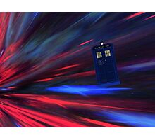 Doctor Who The Movie Photographic Print