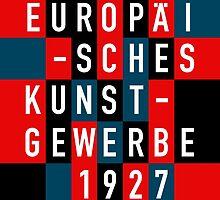 EUROPÄISCHES KUNSTGEWERBE 1927 by THEUSUALDESIGN