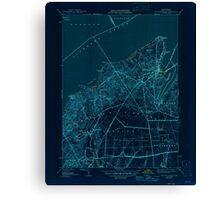 Massachusetts  USGS Historical Topo Map MA Vineyard Haven 352285 1944 31680 Inverted Canvas Print