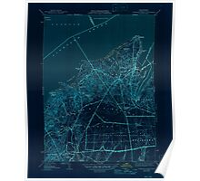 Massachusetts  USGS Historical Topo Map MA Vineyard Haven 352285 1944 31680 Inverted Poster