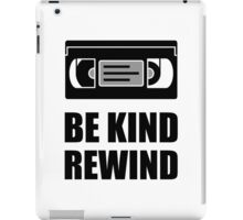 VHS Cassette Tape Be Kind Rewind iPad Case/Skin