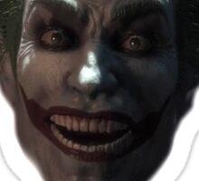 Welcome to the asylum bats! Sticker
