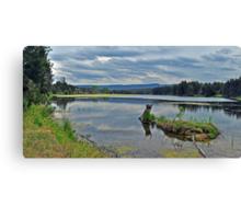 Yarrumundi  Riverside Reserve Canvas Print