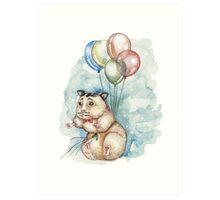Hamster Hoze Art Print