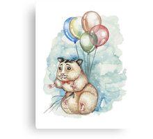 Hamster Hoze Canvas Print