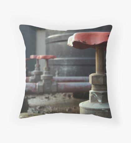 First in line Throw Pillow