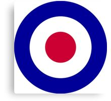 Royal Air Force Roundel (aircraft identifier)  Canvas Print