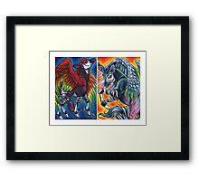 ColorKapis Framed Print