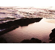 Twighlight Water Photographic Print