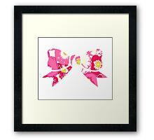 Preppy Bow Framed Print