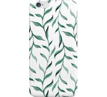 Blue branches. iPhone Case/Skin