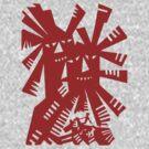 Quixote - Windmills and giants by cisnenegro