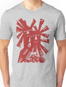 Quixote - Windmills and giants Unisex T-Shirt