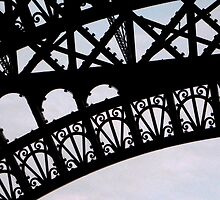 Eiffel Tower Close Up by LindseyDianne