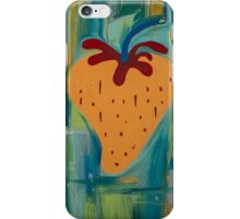 Blue Strawberry  iPhone Case/Skin