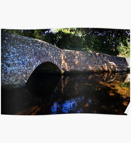 Dunster Bridge Poster