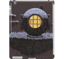 Floating Diver Home Sweet Home iPad Case/Skin
