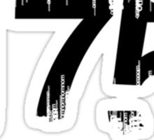 175 noms per minute Sticker