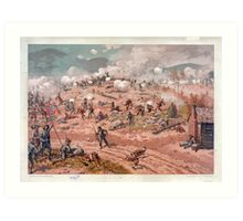 Civil War Battle of Allatoona Pass October 5, 1864 Art Print